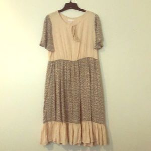 LC by Lauren Conrad peasant dress